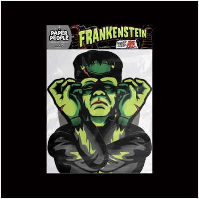 Super7 Universal Monsters Paper People - Frankenstein