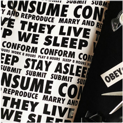 They Live Wrapping Paper