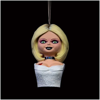 Holiday Horrors -Seed of Chucky Tiffany Bust Ornament